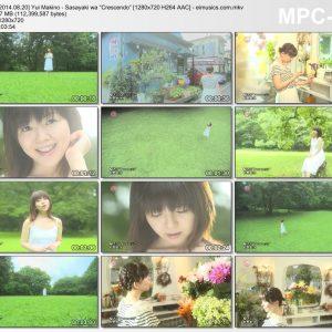"""Download Yui Makino - Sasayaki wa """"Crescendo"""" [1280x720 H264 AAC] [PV]"""