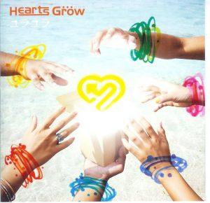 [Single] Hearts Grow – Yura Yura [MP3/320K/RAR][2006.12.06]