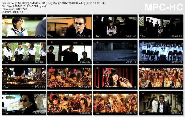 [EIMUSICS] NMB48 - HA! (Long Ver.) [720p]   [2013.02.27].mkv_thumbs_[2015.07.30_02.50.00]
