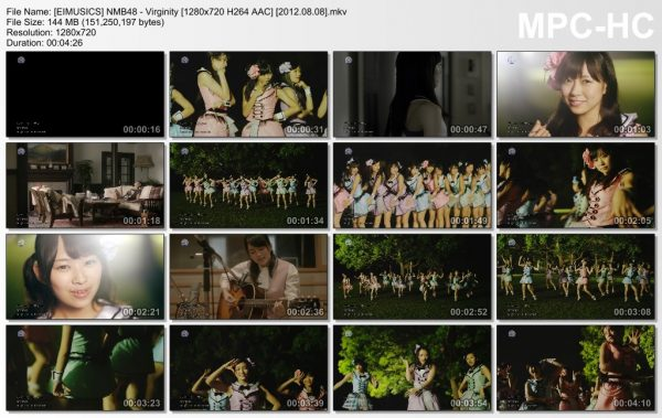 [EIMUSICS] NMB48 - Virginity [720p]   [2012.08.08].mkv_thumbs_[2015.07.30_03.17.19]