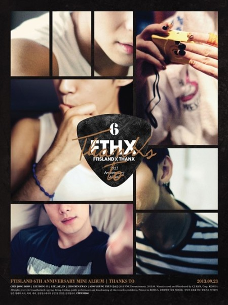 Download FTISLAND - THANKS TO [Mini Album]