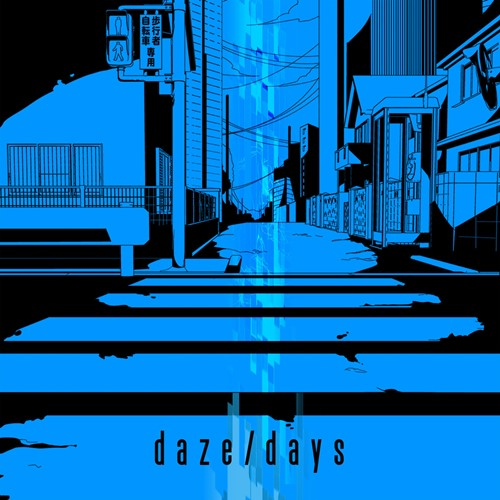 Download Jin feet. MARiA from GARNiDELiA - daze / days [Single]