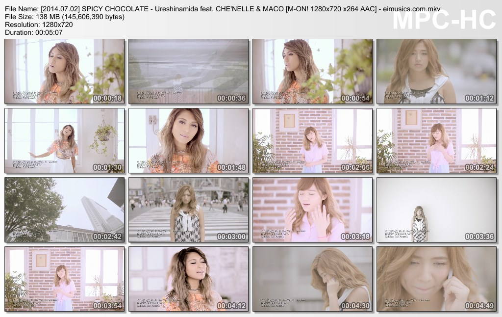 [2014.07.02] SPICY CHOCOLATE - Ureshinamida feat. CHE NELLE & MACO (M-ON!) [720p]   - eimusics.com.mkv_thumbs_[2015.09.29_18.31.02]