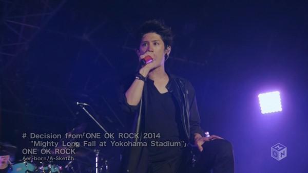 "[2015.04.29] ONE OK ROCK - Decision from 「ONE OK ROCK 2014 ""Mighty Long Fall at Yokohama Stadium""」(M-ON!) [720p]   - eimusics.com.mkv_snapshot_00.54_[2015.09.25_15.23.44]"