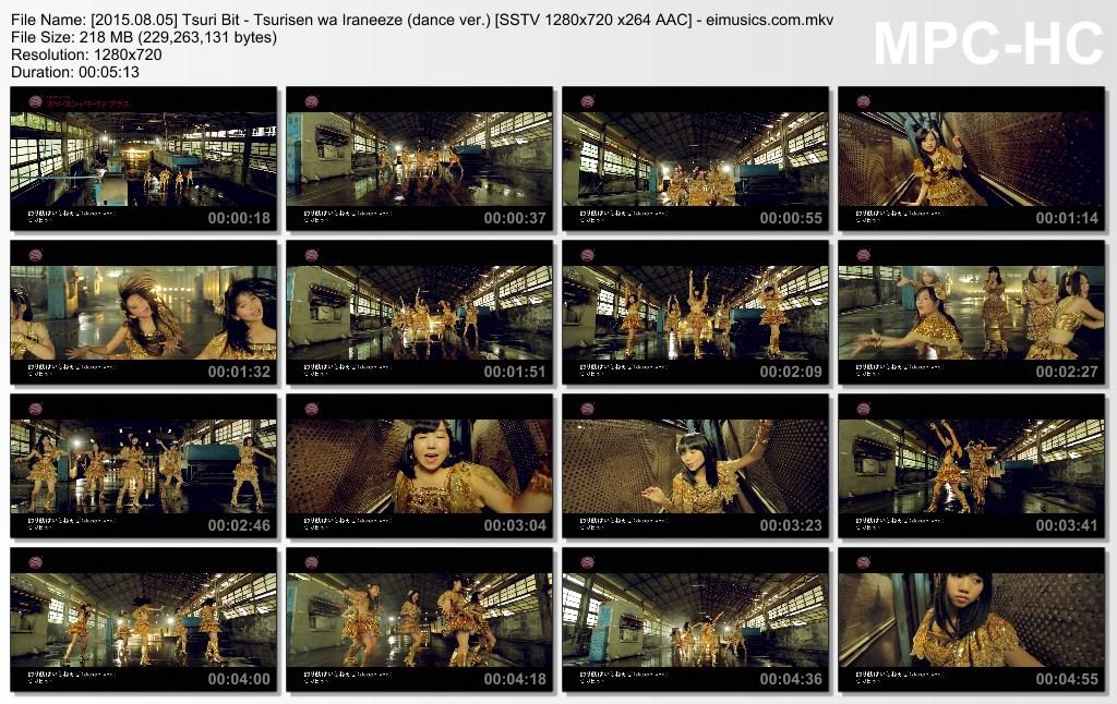 [2015.08.05] Tsuri Bit - Tsurisen wa Iraneeze (dance ver.) (SSTV) [720p]   - eimusics.com.mkv_thumbs_[2015.09.25_15.30.52]