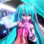 Hatsune Miku – FREELY TOMORROW (Project Diva Arcade Ver.) (DVD) [480p] [PV]