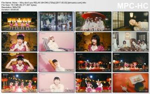 9nine – Why don't you RELAX (M-ON!) [720p] [PV]