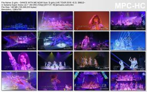 """E-girls – DANCE WITH ME NOW! from """"E-girls LIVE TOUR 2016 ~E.G. SMILE~ in Saitama Super Arena vol.1"""" (M-ON!) [720p] [PV]"""