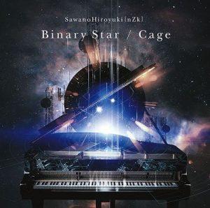 """[Single] SawanoHiroyuki[nZk] – Binary Star/Cage """"Ginga Densetsu: Die Neue These"""" Opening Theme [Hi-Res/FLAC/ZIP][2018.04.25]"""