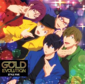 """[Single] STYLE FIVE – GOLD EVOLUTION """"Free!: Dive to the Future"""" Ending Theme [MP3/320K/ZIP][2018.08.22]"""