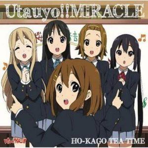 "[Single] Ho-kago Tea Time – Utauyo!! MIRACLE ""K-ON S2"" 2nd Opening Theme [MP3/320K/ZIP][2010.08.04]"