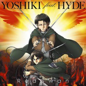 "[Single] YOSHIKI feat. HYDE – Red Swan ""Attack on Titan Season 3"" Opening Theme [MP3/320K/ZIP][2018.10.03]"