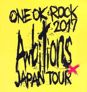 "[Concert] ONE OK ROCK – ""Ambitions"" Japan Tour 2017 at Saitama Super Arena [BD][1080p][x264][FLAC][2018.01.17]"