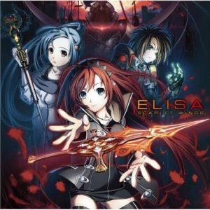 """[Single] ELISA – SCARLET WINGS """"Meikyuu Cross Blood: Reloaded"""" Opening Theme [MP3/320K/ZIP][2011.11.09]"""