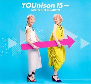 [Album] Miyuki Hashimoto – YOUnison 15→ [MP3/320K/ZIP][2019.07.31]