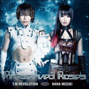 "[Single] T.M.REVOLUTION×Nana Mizuki – Preserved Roses ""Kakumeiki Valvrave"" Opening Theme [MP3/320K/ZIP][2013.05.15]"