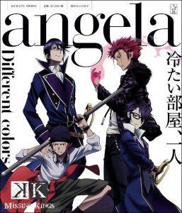 "[Single] angela – Different Colors ""K: Missing Kings"" Theme Song [MP3/320K/RAR][2014.07.12]"