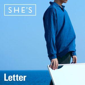 [Digital Single] SHE'S – Letter [MP3/320K/ZIP][2019.10.22]