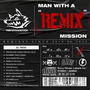 "[Album] MAN WITH A MISSION – MAN WITH A ""REMIX"" MISSION [MP3/320K/ZIP][2020.05.13]"